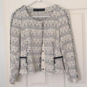 Zara tweed like jacket